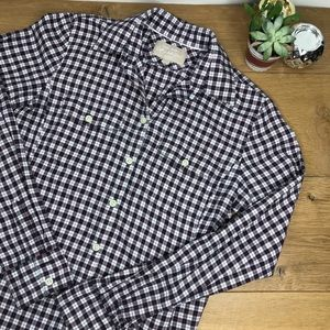 Banana Republic Soft Wash Plaid Shirt